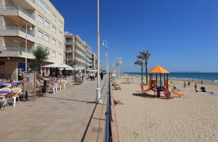 Promenade in Guardamar del Segura, Catalonia Spain. Photo taken at 3rd of May 2012 Stock Photo - 13744479