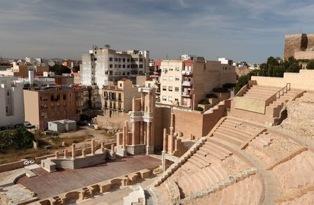 roman amphitheatre: Anfiteatro Romano de Cartagena, Espa�a