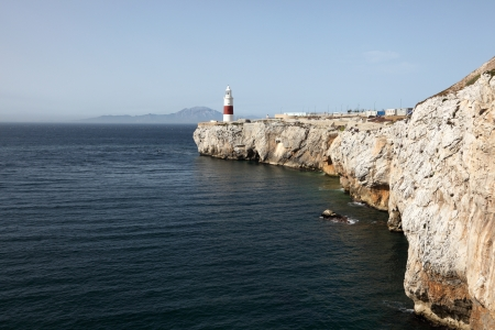 europa: Lighthouse at the Europa Point, Gibraltar