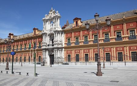 presidency: Palacio de San Telmo - now headquarters of the Presidency of Andalusia in Seville, Spain
