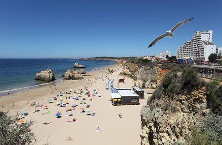 rocha: Beach Praia da Rocha in Portimao, Algarve Portugal. Photo taken at 22nd June 2012 Editorial
