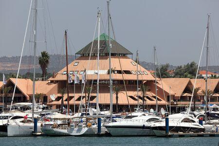 vilamoura: Luxury yachts in the Marina de Vilamoura, Algarve Portugal. Photo taken at 28th June 2012