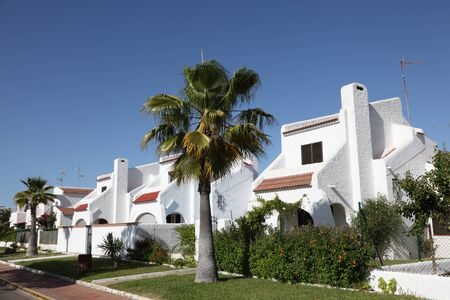 huelva: Residential buildings in Matalascanas, Province Huelva, Andalusia Spain Stock Photo