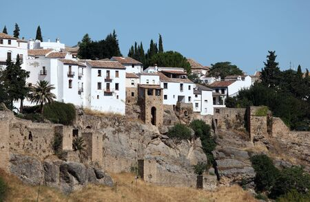 ronda: Old town of Ronda, Andalusia Spain