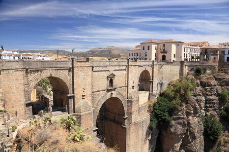 nuevo: Famous bridge Puente Nuevo in Ronda, Andalusia Spain
