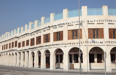 suq: Souq Waqif in Doha. Qatar, Middle East