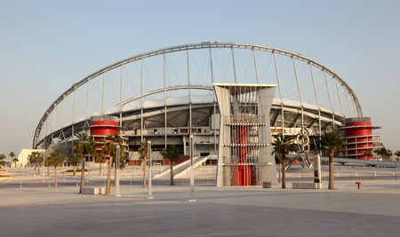 Khalifa International Stadium in Doha, Qatar. Photo taken at 7th of January 2012 Stock Photo - 15132720