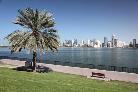 sharjah: Sharjah Creek Park. United Arab Emirates