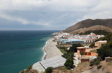 ferro: Mediterranean Coast at Castell de Ferro, Andalusia Spain