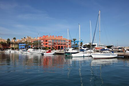 Marina in Sotogrande, Costa del Sol, Andalusia Spain photo