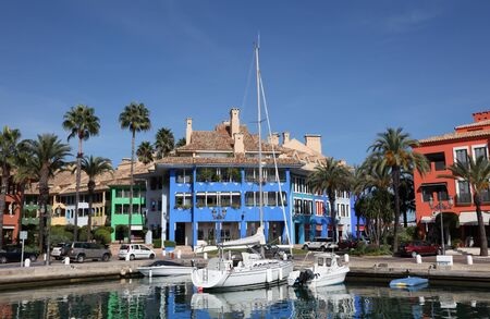 Marina in Sotogrande, Costa del Sol, Andalusia, Spain photo