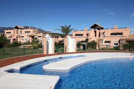 accomodation: Vacation resort with pool in Andalusia, Costa del Sol, Spain