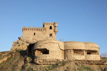 tarifa: The ancient tower of Tarifa, Andalusia Spain Stock Photo