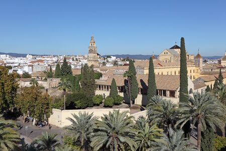 View over the old town of Cordoba, Andalusia Spain photo