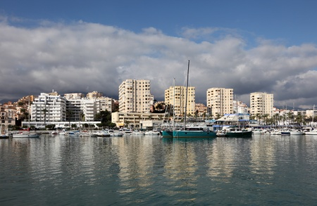 'costa del sol': Marina of Estepona, Costa del Sol, Andalusia Spain