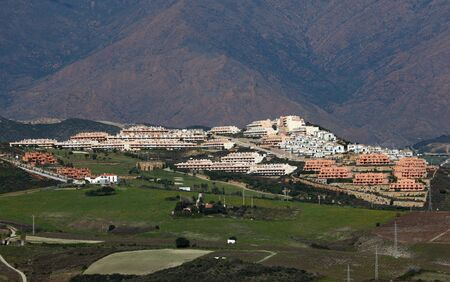 Urbanisation at the Costa del Sol, Andalusia, Spain photo