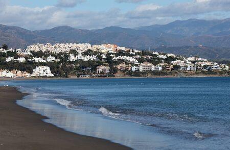 'costa del sol': Bahia Casares beach  Costa del Sol, Andalusia, Spain