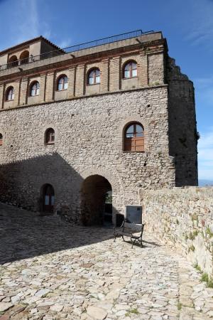 fortification: Fortification in Castellar de la Frontera, Andalusia Spain