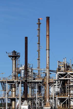 industria petroquimica: Petroqu�mica refiner�a de petr�leo de la industria