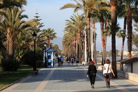 san pedro: Promenade in San Pedro de Alcantara. Costa del Sol, Andalusia Spain Editorial