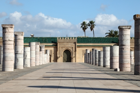 maroc: The Mausoleum of Mohammed V in Rabat, Morocco