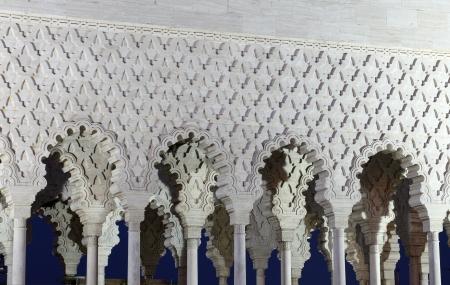 mohammed: Detail of the Mausoleum of Mohammed V in Rabat Morocco