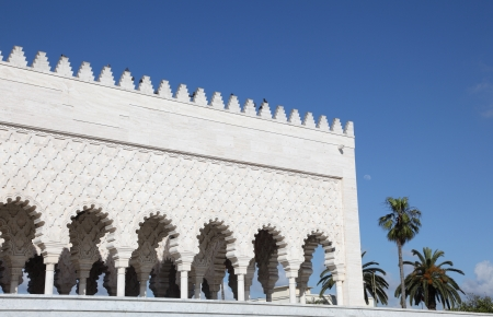 mohammed: Mausoleum of the Mohammed V in Rabat, Morocco