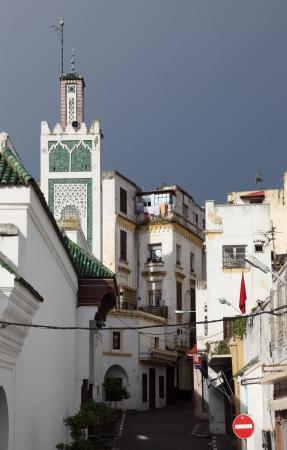 medina: Street in the medina of Tangier, Morocco