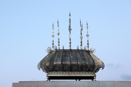 mohammed: Detail of the Mohammed V Mausoleum in Rabat, Morocco