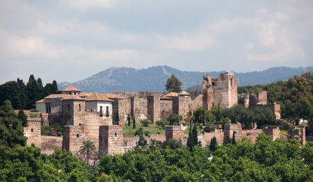 The Alcazaba of Malaga, Andalusia Spain