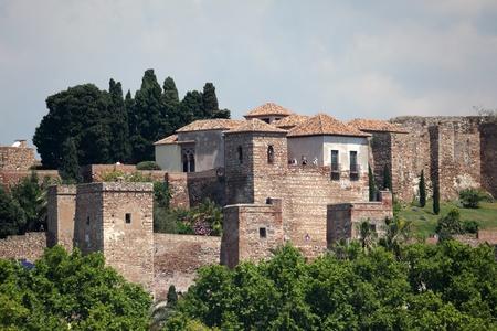 alcazaba: The Alcazaba of Malaga, Andalusia Spain