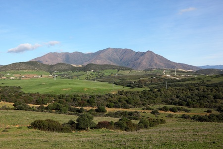 Beautiful Landscape near Estepona, Andalusia, Spain