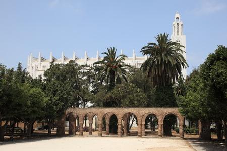 coeur: Sacre Coeur Cathedral in Casablanca, Morocco
