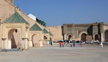 afrique du nord: Lieu Mahdim � Mekn�s, au Maroc, en Afrique du Nord Editeur