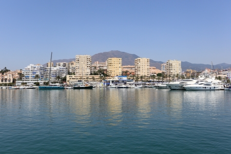 Marina of Estepona, Andalusia Spain