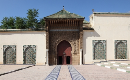 mausoleum: Mausoleum of Moulay Ismail in Meknes, Morocco