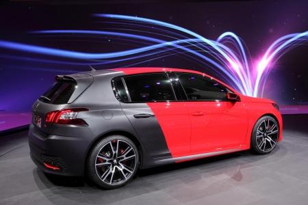 International Motor Show In Frankfurt Germany Peugeot 308 R