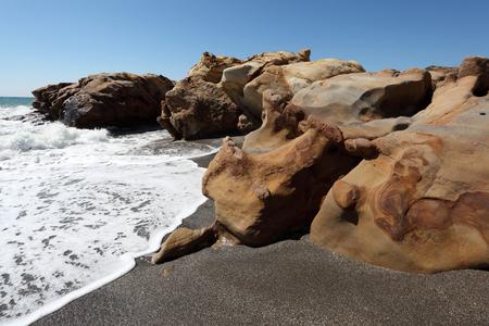 'costa del sol': Mediterranean beach at Costa del Sol, Andalusia, Spain
