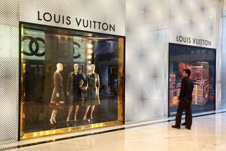 Luxury boutique in Hong Kong