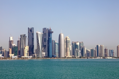 Skyline of Doha, Qatar Stock Photo - 24937925