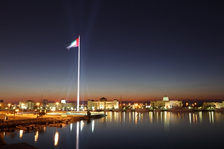 Flag of the United Arab Emirates in Sharjah