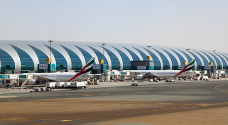 Dubai International Airport. United Arab Emirates
