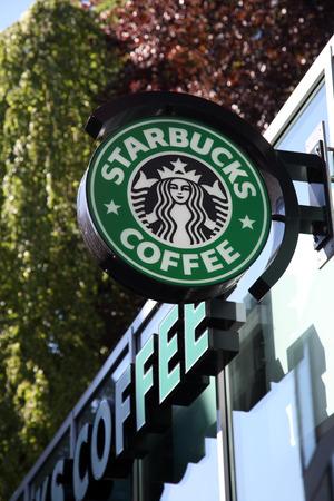starbucks coffee: Starbucks Coffee coffeehouse in Munster, North Rhine-Westphalia, Germany
