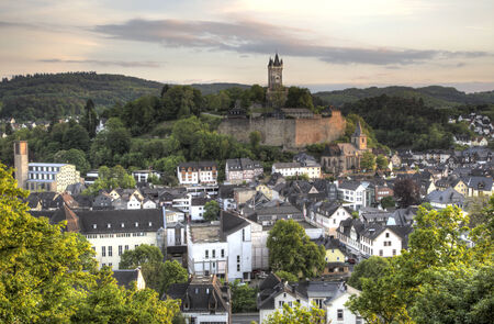 hesse: Town Dillenburg with historical Castle in Hesse, Germany