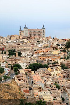 toledo town: The old town of Toledo, Castilla-La Mancha, Spain Stock Photo