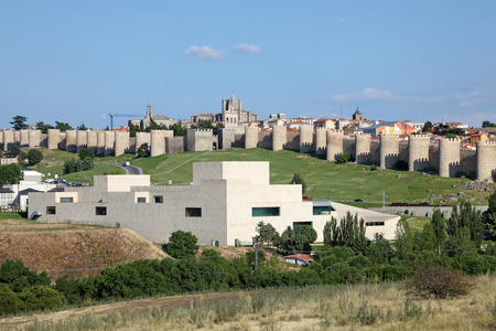 Medieval spanish town Avila, Castile and Leon, Spain photo