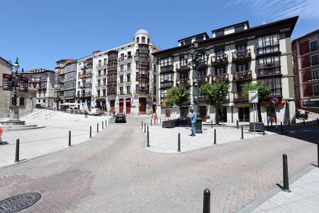 santander: Square in the city of Santander, Cantabria, Spain Editorial