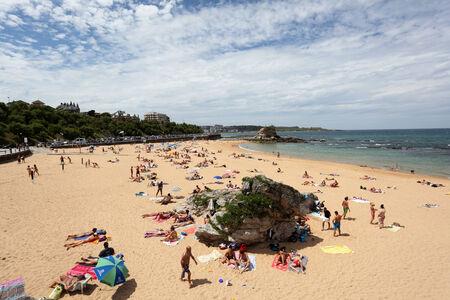 santander: Beautiful beach in Santander, Cantabria, Spain