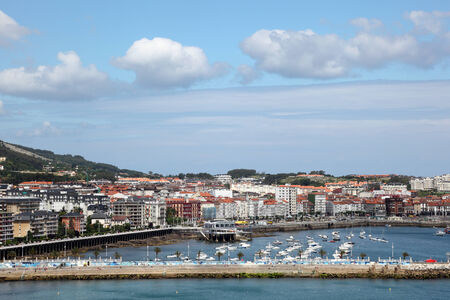 cantabria: Town Castro Urdiales in Cantabria, Spain