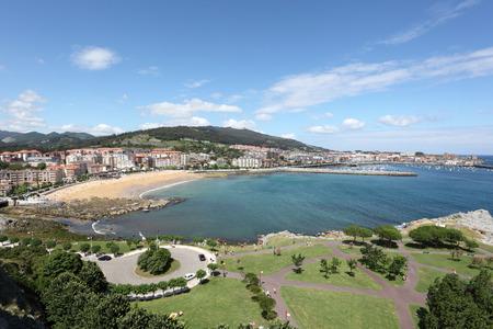 cantabria: View over Castro Urdiales, Cantabria, Spain
